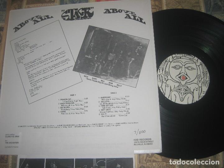 Discos de vinilo: Stack - Above All limite edicion void records troquelada +encarte 1997 californa exclente condicion - Foto 2 - 122270827