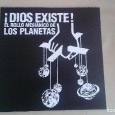 Discos de vinilo: 10 PULGADAS LOS PLANETAS ¡DIOS EXISTE! EL ROLLO MESIANICO DE LOS PLANETAS INDIE POP ESPAÑA. Lote 122271335