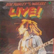 Discos de vinilo: LP. BOB MARLEY - LIVE. Lote 122273279