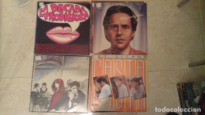 Discos de vinilo: Lote de 28 discos variados - Miguel Rios, Serrat, Osborne, Parrita, Vicky Larraz.... - Foto 2 - 122274063