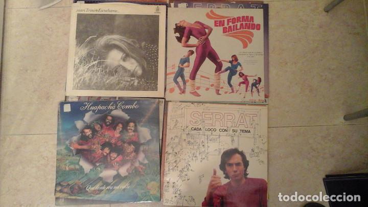 Discos de vinilo: Lote de 28 discos variados - Miguel Rios, Serrat, Osborne, Parrita, Vicky Larraz.... - Foto 3 - 122274063