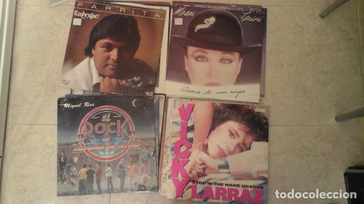 Discos de vinilo: Lote de 28 discos variados - Miguel Rios, Serrat, Osborne, Parrita, Vicky Larraz.... - Foto 4 - 122274063