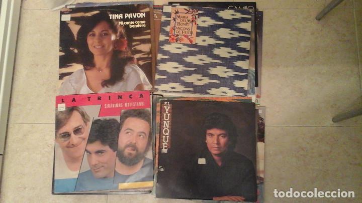 Discos de vinilo: Lote de 28 discos variados - Miguel Rios, Serrat, Osborne, Parrita, Vicky Larraz.... - Foto 7 - 122274063