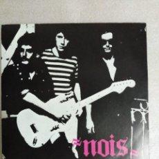 Discos de vinilo: NOIS - DOMINIO BRUTAL + ANGEL DE FUEGO (LADY ALICIA, 1983) - ROCK TOLEDANO-MANCHEGO, DE TALAVERA. Lote 122275415