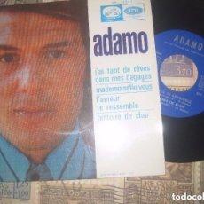 Discos de vinilo: ADAMO / J'AI TANT DE RÊVES DANS MES /(LA VOZ DE SU AMO 1968)OG ESPAÑA EXCELENTE CONDICION LEA DESCRI. Lote 122277119