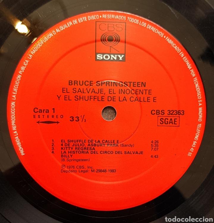 Discos de vinilo: Lp Bruce Springsteen The wild,the innovent & the e street shufle - Foto 3 - 122277388