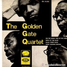 Discos de vinilo: THE GOLDEN GATE QUARTET– ON THE SUNNY SIDE OF THE STREET - EP SPAIN 1966. Lote 122283135