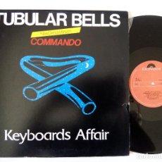 Discos de vinilo: KEYBOARDS AFFAIR. TUBULAR BELLS. MAXI POLYDOR 815 273-1. PORTUGAL 1983. ITALO DISCO.. Lote 122285195
