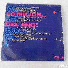Discos de vinilo: LO MEJOR...DEL AÑO! VOL.2 HISPAVOX 1963 RAPHAEL KARINA KINKS FRANK SINATRA SURFS PETULA CLARK . Lote 122289167