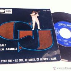 Discos de vinilo: GEORGES JOUVIN SCANDALE DANS LA FAMILIE EP EDIC ESPAÑA DISCO Y PORTADA BIEN. Lote 122290043