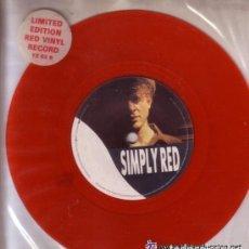 Vinyl records - SIMPLY RED - JERICHO - SINGLE LIMITED EDITION, SINGLE ROJO UK 1986 - 122290435