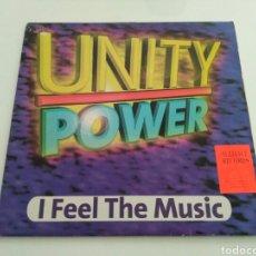 Discos de vinilo: UNITY POWER - I FEEL THE MUSIC. Lote 122298754
