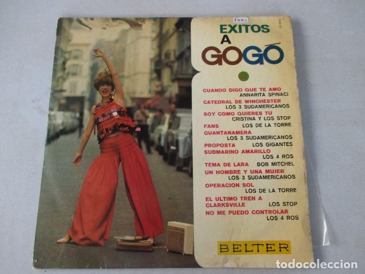 ÉXITOS A GOGÓ BELTER 1967 LOS 3 SUDAMERICANOS CRISTINA Y LOS STOP LOS DE LA TORRE LOS 4 ROS (Música - Discos - LP Vinilo - Grupos Españoles 50 y 60)