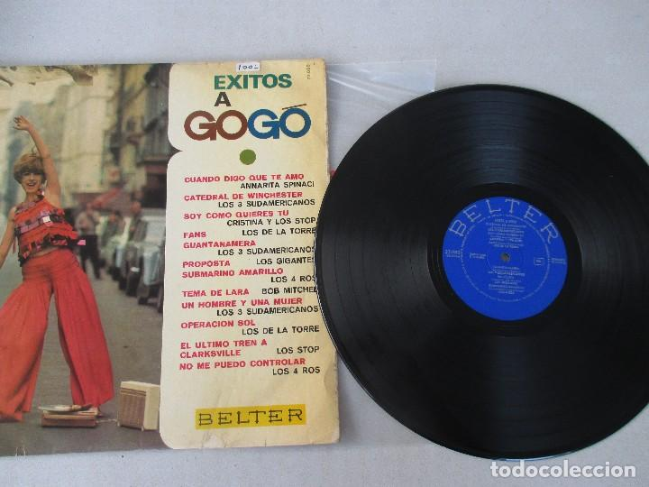 Discos de vinilo: Éxitos a gogó BELTER 1967 LOS 3 SUDAMERICANOS CRISTINA Y LOS STOP LOS DE LA TORRE LOS 4 ROS - Foto 3 - 122299743