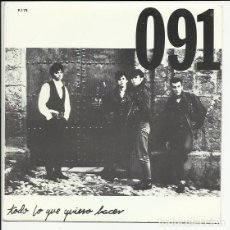 Discos de vinilo: 091 SG ZAFIRO 1988 TODO LO QUE QUIERO HACER / SOLO HAGO SONAR MI GUITARRA LAPIDO. Lote 175504767
