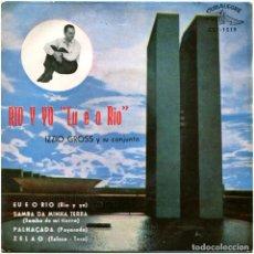 Discos de vinilo: IZZIO GROSS Y SU CONJUNTO – RIO Y YO (EU E O RIO) - EP SPAIN 1959 - CUBALEGRE CEP-1519. Lote 122320451