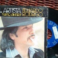 Discos de vinilo: SINGLE (VINILO) DE EDUARDO RODRIGO AÑOS 70. Lote 122331787