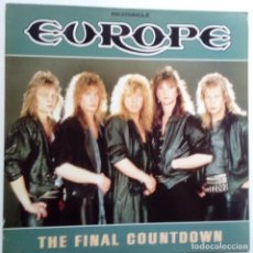 Discos de vinilo: EUROPE- THE FINAL COUNTDOWN - SPAIN LP 1986- VINILO EXC. ESTADO.. Lote 122333471