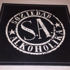 Discos de vinilo: SOZIEDAD ALKOHOLIKA - SOZIEDAD ALKOHÓLIKA LP (THRASH METAL, HARDCORE PUNK, BOIKOT, NAPALM DEATH). Lote 122339175