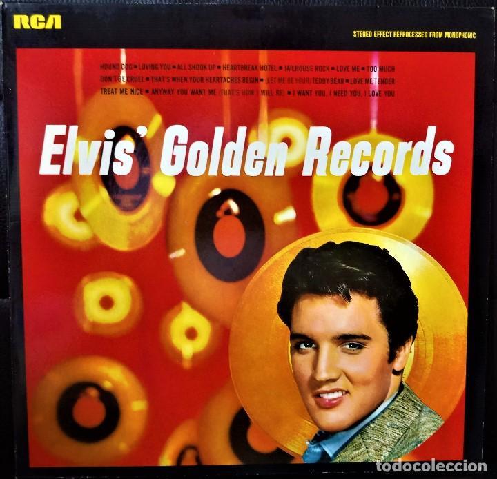 {ELVIS PRESLEY} ELVIS' GOLDEN RECORDS ? LP ? - - GERMANY / NM/NM (Música - Discos - LP Vinilo - Rock & Roll)
