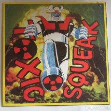 Discos de vinilo: TOXIC SQUEAK EP . ROTAFLESH RECORDS - MIKEL BIFFS - PUNK BASQUE - DESPLEGABLE. Lote 122376819