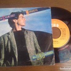 Discos de vinilo: SINGLE - ALAIN CHAMFORT - MANUREVA - AÑO 1980 - EDITION SPANISH. Lote 122402083
