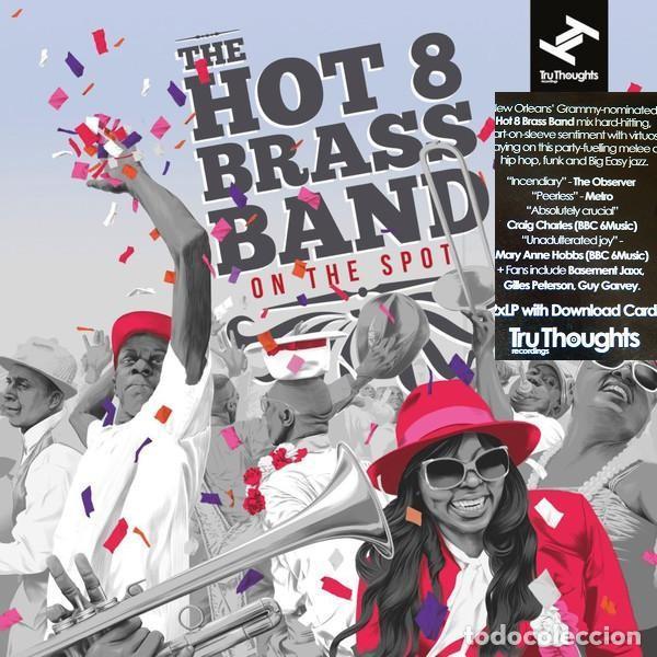 THE HOT 8 BRASS BAND * 2LP 180G + CUPÓN DESCARGA * PRECINTADO!! (Música - Discos - LP Vinilo - Jazz, Jazz-Rock, Blues y R&B)