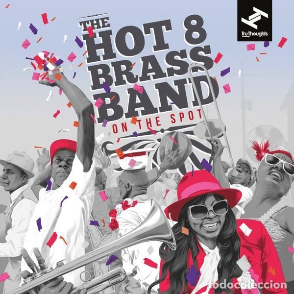 Discos de vinilo: THE HOT 8 BRASS BAND * 2LP 180g + Cupón descarga * Precintado!! - Foto 4 - 122435151