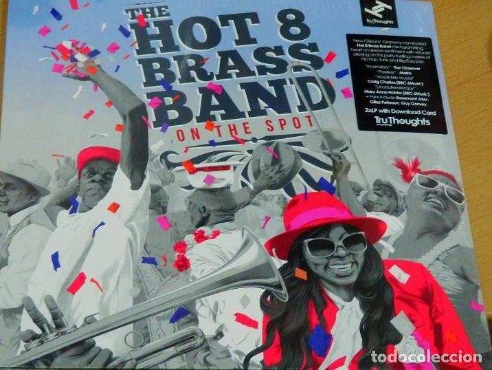 Discos de vinilo: THE HOT 8 BRASS BAND * 2LP 180g + Cupón descarga * Precintado!! - Foto 8 - 122435151