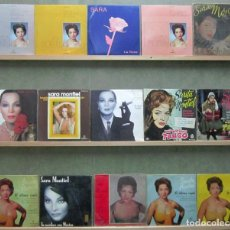Discos de vinilo: G8680 SARA MONTIEL COLECCION 15 EPS + SINGLES VINILO. Lote 122435575