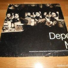 Discos de vinilo: DEPECHE MODE. EVERYTHING COUNTS. MAXI SINGLE SPAÑA 4 TEMAS. Lote 122435663