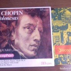 Discos de vinilo: SINGLE - RAYMOND TROUARD - F. CHOPIN POLONESAS - AÑO 1964 - EDITION SPANISH. Lote 122437551