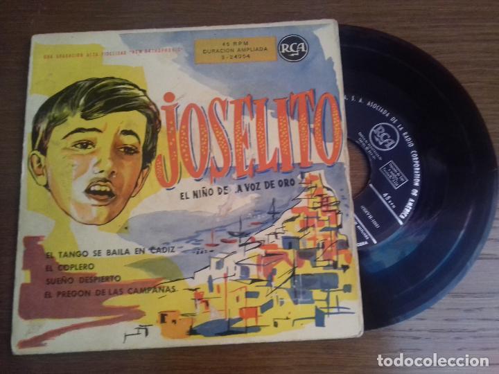 SINGLE - JOSELITO - EL NIÑO DE LA VOZ DE ORO - EDITION SPANISH (Música - Discos - Singles Vinilo - Solistas Españoles de los 50 y 60)