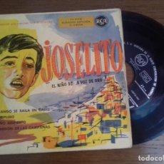 Discos de vinilo: SINGLE - JOSELITO - EL NIÑO DE LA VOZ DE ORO - EDITION SPANISH. Lote 122440859