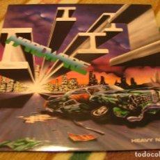 Discos de vinilo: HARDWARE LP HEAVY NIGHTS SAM RECORDS ORIGINAL ESPAÑA 1988 MINT. Lote 122442591