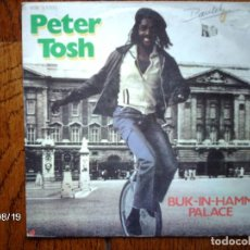 Discos de vinilo: PETER TOSH - BUCK-IN-HAMM PALACE + THE DAY THE DOLLAR DIE . Lote 122443807