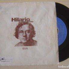 Discos de vinilo: HILARIO CAMACHO - EVA - SINGLE PROMOCIONAL 1990 - COPASION. Lote 122447427