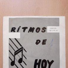 Discos de vinilo: RITMOS DE HOY- LOS HISPANOS EDUARDO FUENMAYOR- EP IBERIA 1966. Lote 122447755