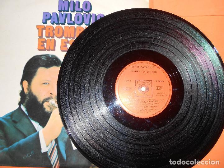 Discos de vinilo: MILO PAVLOVIC. TROMPETA EN ESTEREO.CBS.1970. RARO. - Foto 5 - 122448707