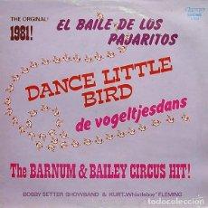 Discos de vinilo: THE ORIGINAL 1981! EL BAILE DE LOS PAJARITOS - LP OLYMPO 1981. Lote 122450187