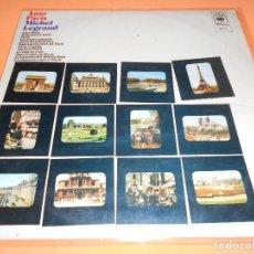Discos de vinilo: MICHEL LEGRAND. AMO PARIS. CBS. HARMONY. 1970.. Lote 122450547
