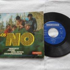 Discos de vinilo: LOS NO 7´EP MOSCOVIT + 3 TEMAS (1966) BUENA CONDICION. Lote 122456391