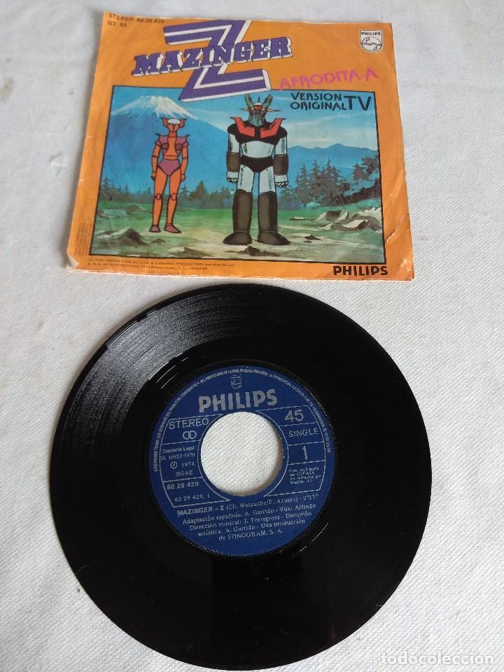 Discos de vinilo: SINGLE/MAZINGER Z/AFRODITA A. - Foto 2 - 122458331
