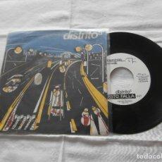 Discos de vinilo: DISTRITO 5 7´SG H.E.I.D.A.I / ESTO FALLA (1983) EDITA DDOMESTIC -POP ROCK 80´S -BARCELONA- BUENO. Lote 122460099