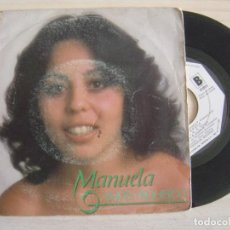 Discos de vinilo: MANUELA - AMOR PROHIBIDO + GOLONDRINA - SINGLE PROMOCIONAL 1982 - MOVIEPLAY. Lote 122462267