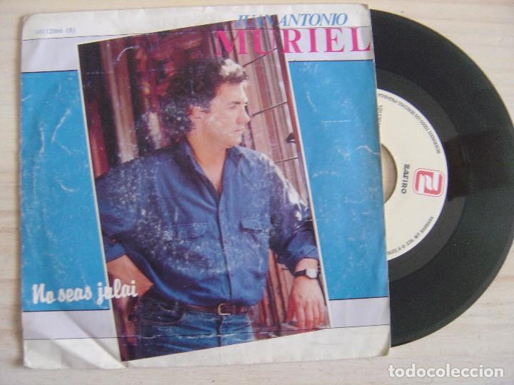 JUAN ANTONIO MURIEL - No seas julai + Caso cerrado - SINGLE PROMOCIONAL  1987 - ZAFIRO