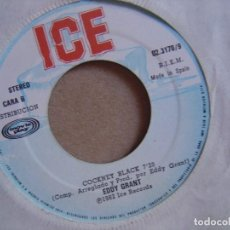 Discos de vinilo: EDDY GRANT - JAMAICAN CHILD + COCKNEY BLACK - SINGLE 1982 - ICE. Lote 122464495