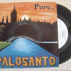 Discos de vinilo: PALOSANTO - ZALAMERIA + AMIGO MIO - SINGLE 1993 - SOLERA. Lote 122466423