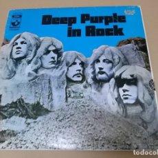 Discos de vinilo: DEEP PURPLE (LP) IN ROCK AÑO 1970 – EDICION ORIGINAL. Lote 86154484