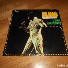 Discos de vinilo: VINILO ELVIS PRESLEY C´MON EVERYBOBY 1977 LP RCA. Lote 122491199